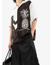Рубашка С Принтом Bottega Veneta для него, цвет: Black