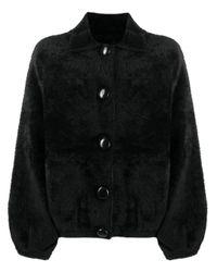 Essentiel Antwerp ムートンスタイル ジャケット Black