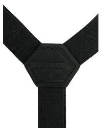 DSquared² Black Braces for men