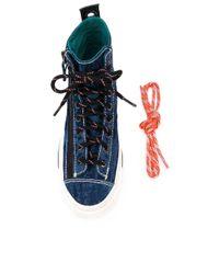 Zapatillas altas vaqueras DIESEL de color Blue
