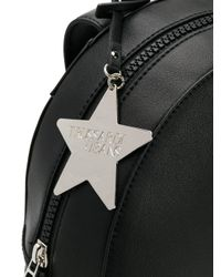 Trussardi Black T-easy Backpack