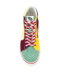 Vans Yellow 'Sk8-Hi' High-Top-Sneakers