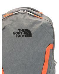 メンズ The North Face ロゴ バックパック Gray