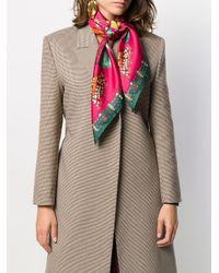 Etro タッセルプリント スカーフ Multicolor