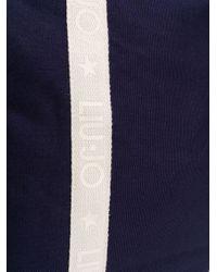 Liu Jo ロゴストラップ ハンドバッグ Blue
