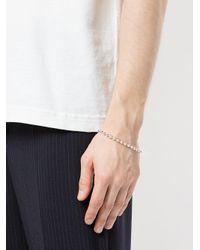Www. Will Shott Metallic Ball Chain Bracelet for men