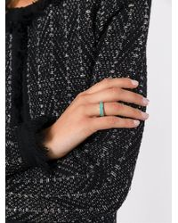 Ca&Lou - Blue Band Ring - Lyst
