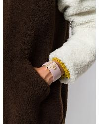 Ferragamo - Multicolor Gancini Cuff Bracelet - Lyst