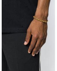 Northskull - Metallic Yazd Bangle Bracelet for Men - Lyst