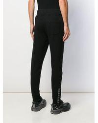 Pantalones de chándal estampados Hydrogen de hombre de color Black