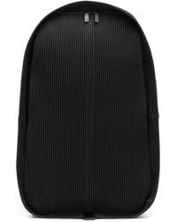 Zaino plissettato di Homme Plissé Issey Miyake in Black da Uomo