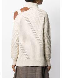 Jonathan Simkhai バックルショルダー セーター Multicolor