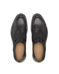 Fendi - Black Oxfordschuhe ohne Schnürung for Men - Lyst