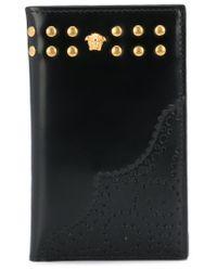 Portefeuille Medusa Versace pour homme en coloris Black