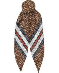 Burberry モノグラム スカーフ Multicolor