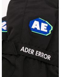 Gants à patch logo ADER ERROR pour homme en coloris Black