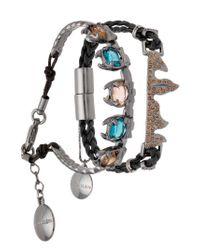 Camila Klein - Metallic 2 Pieces Leather Bracelet - Lyst
