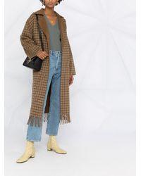 N.Peal Cashmere Green Pullover mit V-Ausschnitt