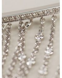 Gaydamak Metallic Line Fountain Hand Bracelet
