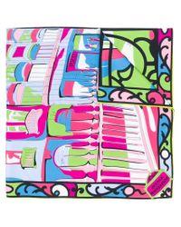 Pañuelo estampado Emilio Pucci de color Multicolor