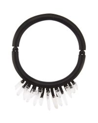 Monies - Black Mountain Crystal Necklace - Lyst