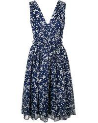 P.A.R.O.S.H. Blue Starlight Dress