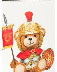 Clutch Teddy Bear di Moschino in Multicolor
