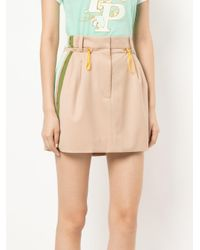 Peter Pilotto - Natural Cady Mini Skirt - Lyst