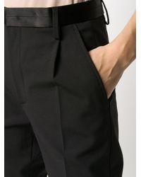 Dondup テーパード テーラードパンツ Black