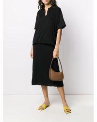 The Row ボクシーフィット ポロシャツ Black