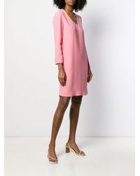 Ermanno Scervino ビジュー ドレス Pink