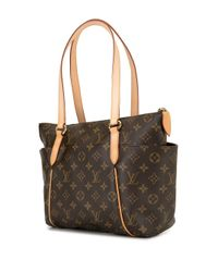 Сумка-тоут Totally Pm Pre-owned Louis Vuitton, цвет: Brown