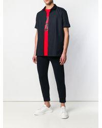 メンズ Neil Barrett Thunderbolt Tシャツ Red