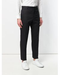 Jil Sander - Blue Straight-leg Suit Trousers for Men - Lyst