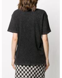 R13 アシッドウォッシュ Tシャツ Black