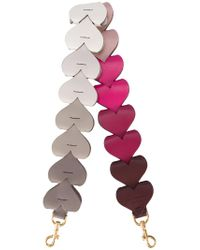 Anya Hindmarch - Pink Heart Link Shoulder Strap - Lyst