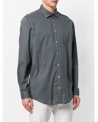 Massimo Alba - Gray Button Up Shirt for Men - Lyst