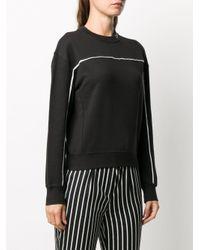 Calvin Klein ロゴ スウェットシャツ Black