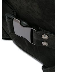 メンズ Giorgio Brato プリント バックパック Black