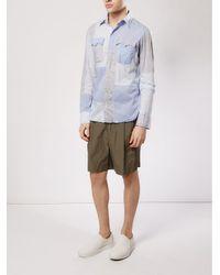 4aa3d4ea814b Shorts con detalle de pliegue Kolor de hombre de color Natural