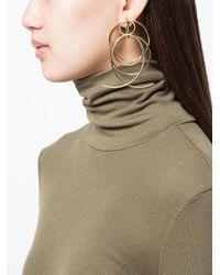 DANNIJO Metallic Lyanna Drop Earrings