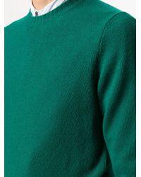 メンズ Mp Massimo Piombo ファインニット セーター Green