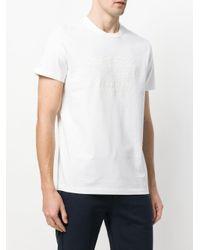 Camiseta con eslogan y ajuste holgado Moncler de hombre de color White