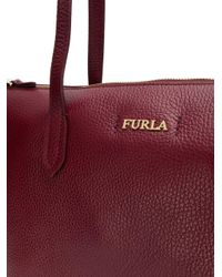 Borsa tote Luce di Furla in Red