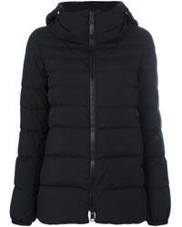 Doudoune zippée Herno en coloris Black