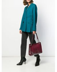 Bolso de hombro Niki mediano Saint Laurent de color Red