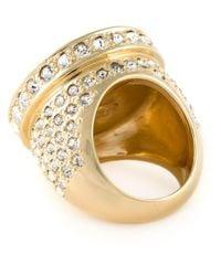 Versace Metallic Classic Medusa Ring