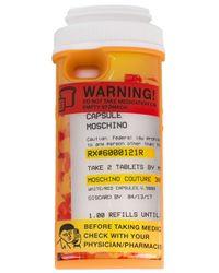 Funda para iPhone 6 con diseño de frasco de pastillas Moschino de color Multicolor