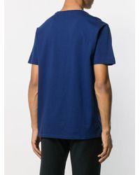 Polo Ralph Lauren T-Shirt mit Logo-Stickerei in Blue für Herren