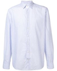 Hackett Blue Classic Striped Shirt for men